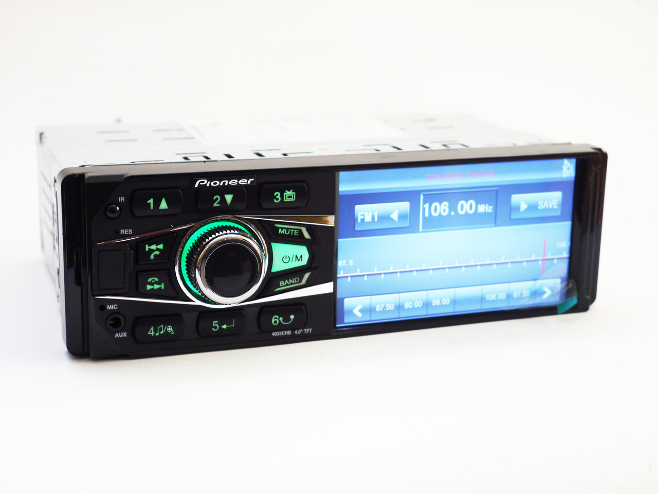 Автомагнитола MP5 Pioneer 4033 экран 4.1 Bluetooth AV-in