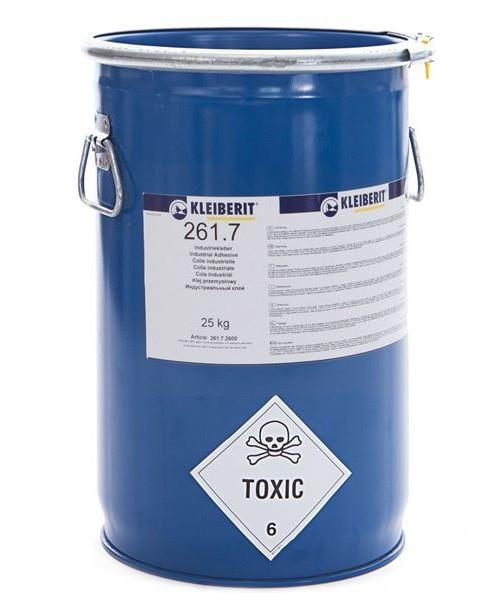 КЛЕЙ для ламинирования пластика (25кг) Клейберит 261.7 (Kleiberit)