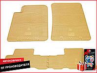 SsangYong Rexton II 2006-2012 Комплект из 4-х ковриков Бежевый