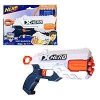 Пистолет  с мягкими  поролоновыми пулями  NERF