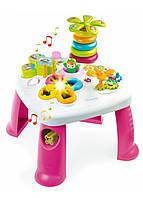 Детский игровой стол Smoby Cotoons Smoby 47х47х49см Розовый