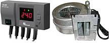 Блок управління KG ELEKTRONIK CS-20 + вентилятор WPA-120 для твердопаливних котлів