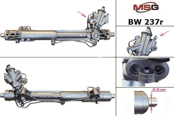 Рулевая рейка BMW 5 F10 2011-2018 с ГУР восстановленная
