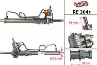 Рулевая рейка RENAULT 19 II 1992-1995 с ГУР восстановленная