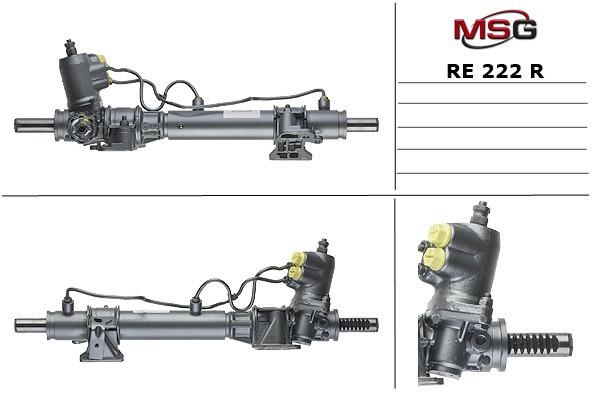 Рулевая рейка RENAULT ESPACE I 1986-1990 с ГУР восстановленная