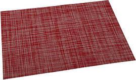 Килимок сервірувальний Renberg Vinyl Rug 30х45см, червоний вініл