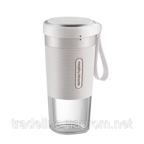 Фитнес-блендер Xiaomi Morphy Richards Portable Juice Cup White (MR9600), фото 2