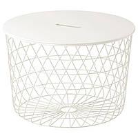 Столик с отделениями IKEA KVISTBRO Белый