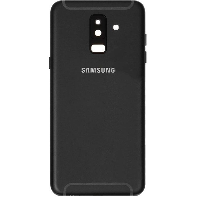 Задняя крышка Samsung A605 (A6 Plus-2018) Black OR