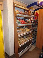 Стойка в магазин для продуктов и ликеро-водчной продукции под заказ.