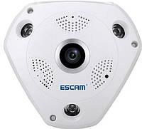 Панорамная IP-камера видеонаблюдения XPX 360 градусов WI-FI Full HD