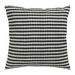 ИКЕА (IKEA) СТОКГОЛЬМ, 502.904.79, Подушка, черный/белый, 50x50 см - ТОП ПРОДАЖ