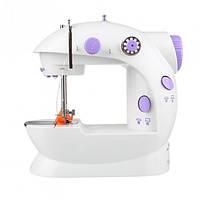 Мини швейная машинка 4 в 1 с педалью FHSM 201  (45598)