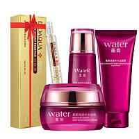 Набор косметический для лица Bioaqua с экстрактом хризантемы WATER + сыворотка в подарок (0110)