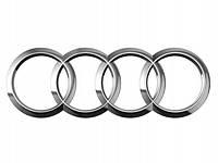 """Эмблема """"Audi"""" 179х58мм пластик \ хром \ скотч"""