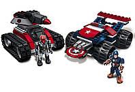 Конструктор Mega Bloks Капитан Америка против Красного Черепа 156 деталей