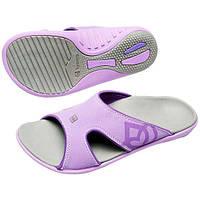 ✅ Женские ортопедические шлепанцы Spenco Kholo Dove Grey/Purple, 36 размер