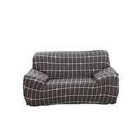 Чехол на кресло диван натяжной Stenson R26298 90-145 см Коричневый (008831)