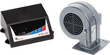 Блок управління KG ELEKTRONIK SP-05 LED+DP-02 вентилятор для твердопаливних котлів