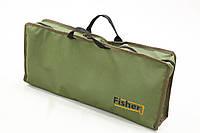 Карповая сумка Fisher для хранения стоек и сигнализатор Olive (К022)