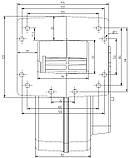 Блок управління KG ELEKTRONIK SP-05 LED+DP-02 вентилятор для твердопаливних котлів, фото 3