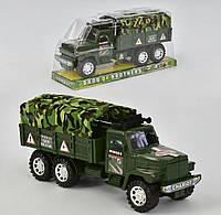 Инерционная военная грузовая машина Small Toys 8804