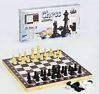 Шахматы Small Toys 3 в 1 F22017 39х39 см