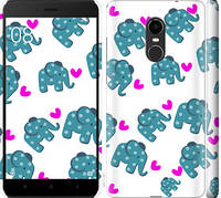 "Чехол на Redmi Note 4X Слоники ""4541c-951-328"""