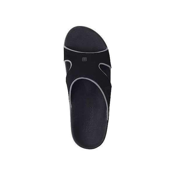 Мужские ортопедические шлепанцы Spenco Kholo Slide Carbon/Pewter Onyx, 40 размер
