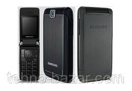 Мобильный телефон Samsung  s3600 Black раскладушка 880 мАч