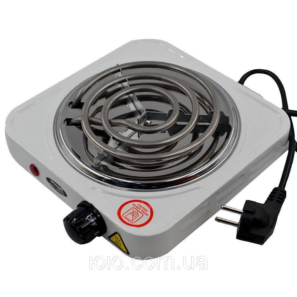 Электроплита 1 комфорка спираль Rainberg RB-555 (1200 Вт)