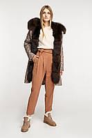 Женская куртка парка с мехом песца, фото 1