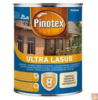 "Пропитка для дерева с лаком ТМ ""PINOTEX"" ULTRA Ореховое дерево (377) - 1,0 л."