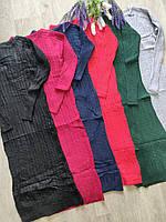 """Платье женское кашемировое с узором, размер 42-46 (6 цв) """"LATTE"""" купить недорого от прямого поставщика"""