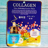 Увлажняющая тканевая маска с коллагеном Malie Collagen Ultra Hydrating Essence Mask 25мл