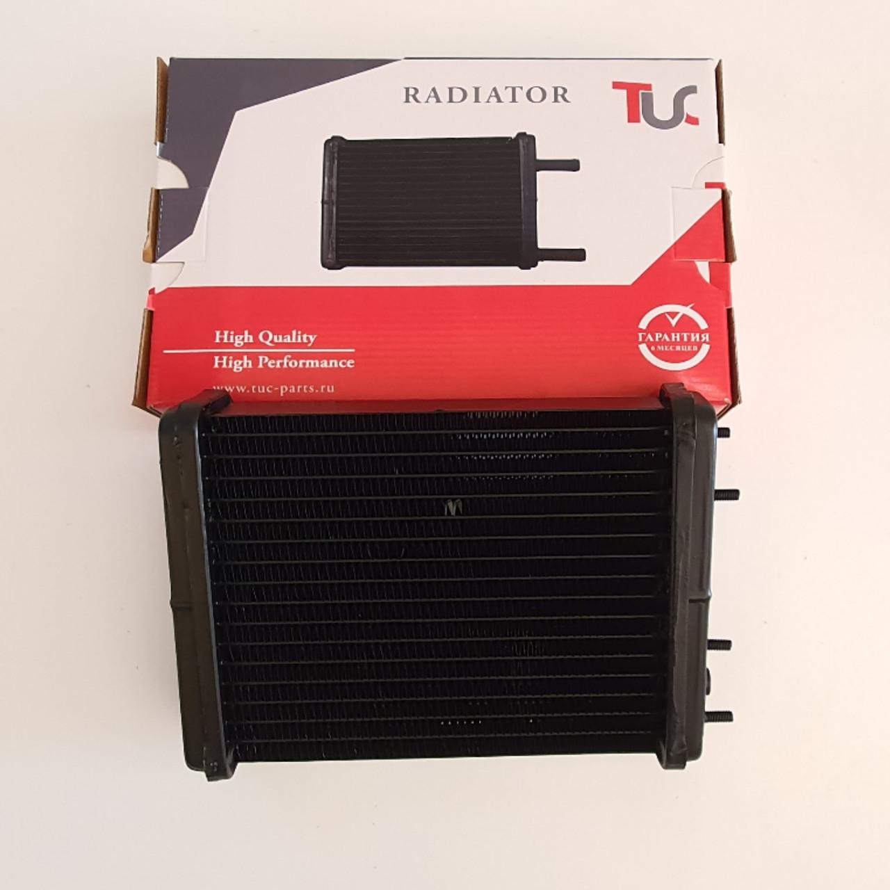 Радиатор отопителя ВАЗ 2101-03, 2106, медный, 2х рядный (Iran radiator ).