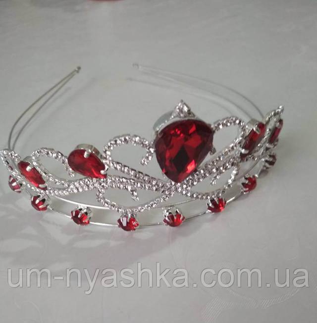 красива червона корона