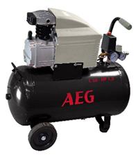 Компрессор поршневой прямоприводный AEG L24 (ресивер 24 л, пр-сть 170 л/мин), фото 2