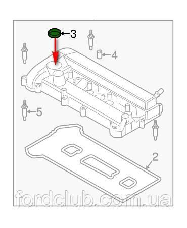 Сальник клапанной крышки BR3Z-6C535-B Ford Fusion USA 2.5