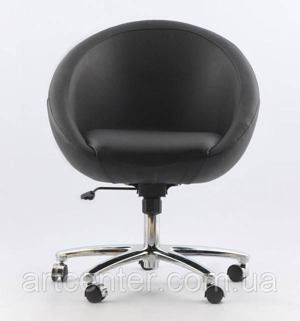 Кресло на колесиках, передвижное Marbino Office Sancafe (черное)