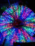 Гирлянда ДЮРАЛАЙТ ( ШЛАНГ ) 10m  разноцветная