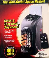 Портативный мини обогреватель Handy Heater 400Вт Черный + пульт