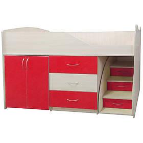 """Ліжко-кімната """"Бід-Рум 5"""" червона"""