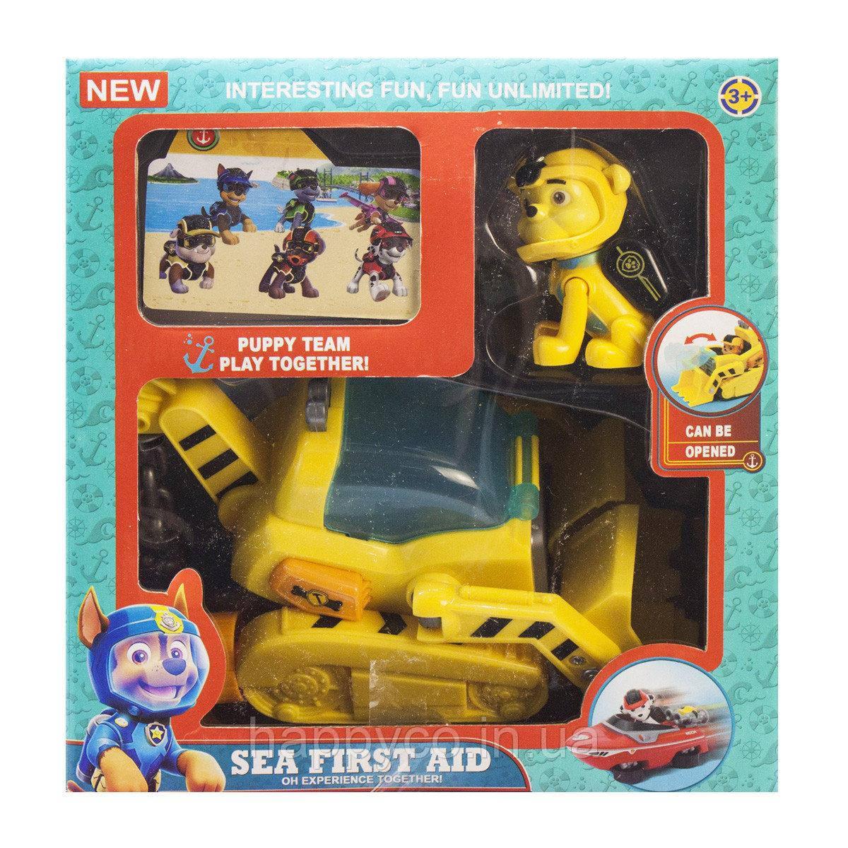 Щенок из серии Морской патруль ,Крепыш, детская игрушка
