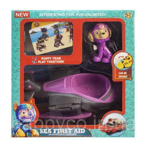 Герой щенок из серии Морской патруль ,Скай, детская игрушка