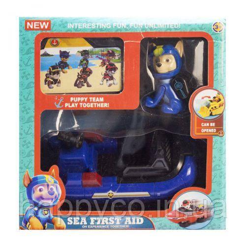Детская игрушка патруль, из серии Морской патруль, Гонщик,