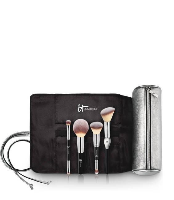 Набор кистей для макияжа IT COSMETICS IT's Your Must-Have Brush Set with Brush Roll