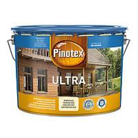 "Пропитка для дерева с лаком ТМ ""PINOTEX"" ULTRA Тиковое дерево (376) - 10,0 л."