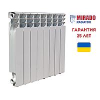 Биметаллический радиатор Mirado 96/500 10 секций в сборе