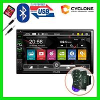 2Din windows автомагнітола CYCLONE MP-7121 WRC BT USB MICROSD AUX